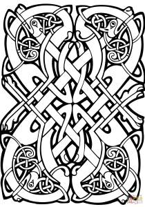 Celtic Art - Coloring Pages for Adults10