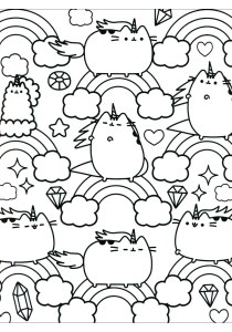 Doodle Art / Doodling - Coloring Pages for Adults8
