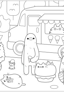 Doodle Art / Doodling - Coloring Pages for Adults4