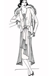 Fashion, clothing and jewelry - Coloring Pages for Adults6