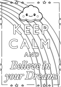 Keep calm and … - Coloring Pages for Adults7