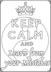 Keep calm and … - Coloring Pages for Adults13