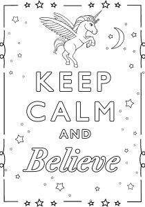 Keep calm and … - Coloring Pages for Adults8