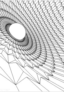 Psychedelic - Coloring Pages for Adults4
