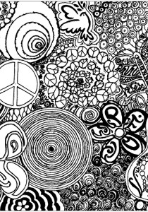Psychedelic - Coloring Pages for Adults6