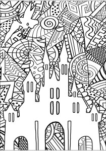 Return to childhood - Coloring Pages for Adults0