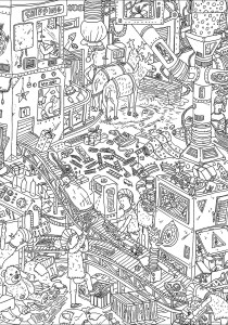 Unclassifiable - Coloring Pages for Adults0
