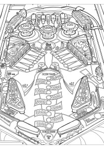Vintage - Coloring Pages for Adults1
