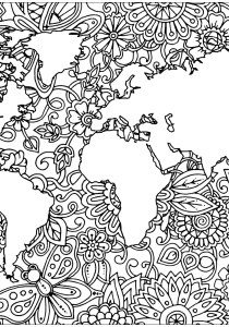 Zen and Anti stress - Coloring Pages for Adults8