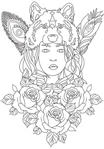 Zen and Anti stress - Coloring Pages for Adults15