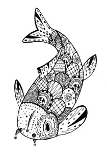 Zentangle - Coloring Pages for Adults17