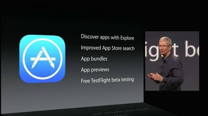 App Store with App Bundles and Beta Tests