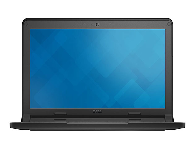 "Dell 11.6"" Chromebook 3120, 4GB RAM 16GB – Black (Refurbished) for $187"