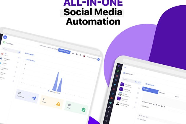 EasyClout Social Media Management for Business: 1-Yr Subscription for $19