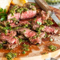 recipe for Hatch Chile Chimichurri