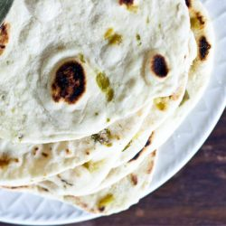 hatch chile tortillas