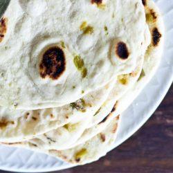hatch chile tortillas