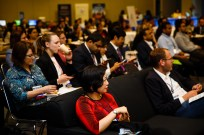 Chicago, IL - 2017 ASCO Annual Meeting - Attendees during How to Navigate the Annual Meeting at the American Society of Clinical Oncology (ASCO) Annual Meeting here today, Saturday June 3, 2017. Over 40,000 physicians, researchers, and healthcare professionals from over 100 countries are attending the 53rd Annual Meeting, which is being held at McCormick Place. The ASCO Annual Meeting highlights the latest findings in all major areas of oncology, from basic to clinical and epidemiological studies. Photo by © ASCO/Brian Powers 2017 Technical Questions: todd@medmeetingimages.com; ASCO Contact: photos@asco.org
