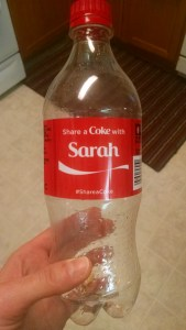 Saved by a bottle of Coke?