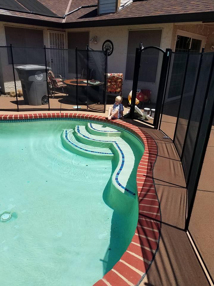 Pool Brick Makeover Ihatemyhouse Net