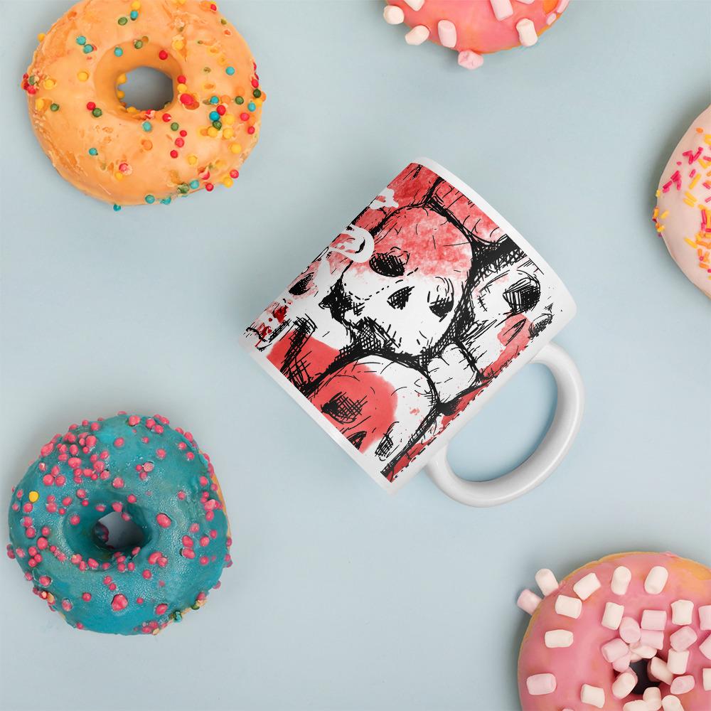 Dynamite Skull Coffee Mug