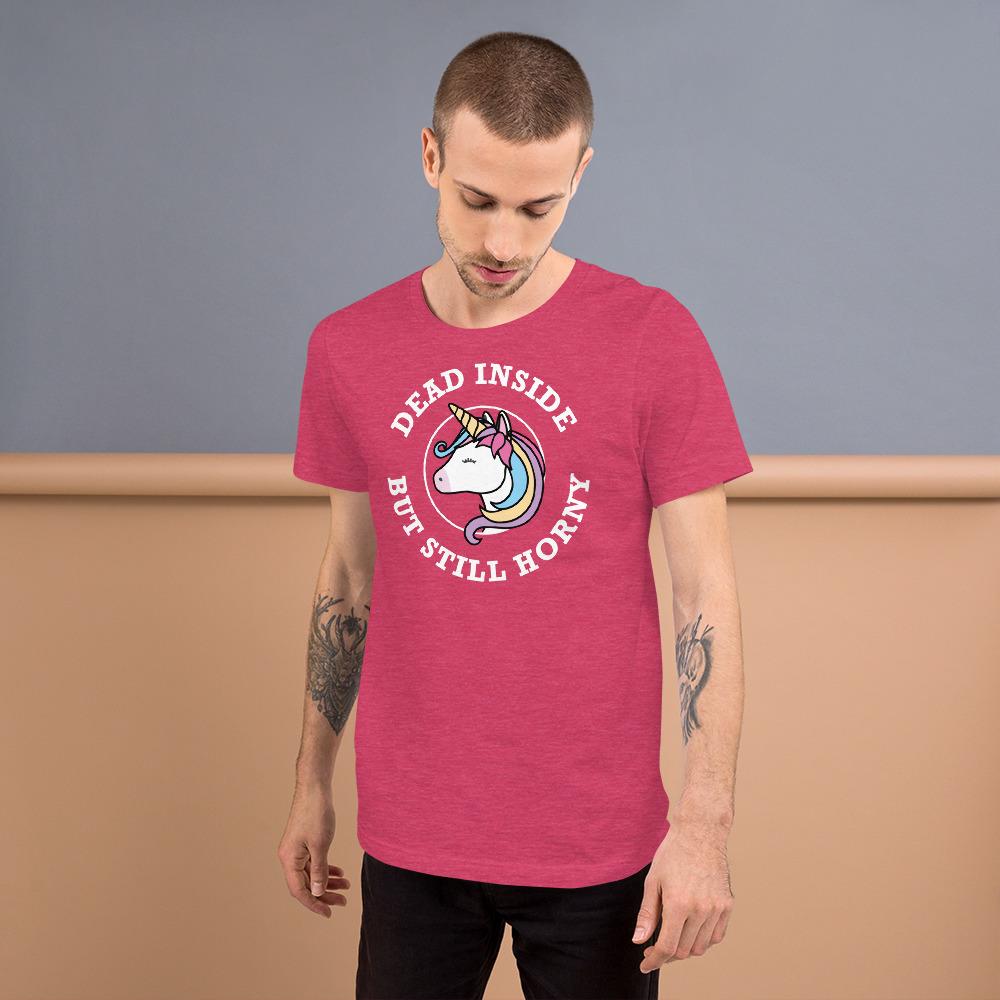 Dead Inside But Still Horny Unicorn T-Shirt