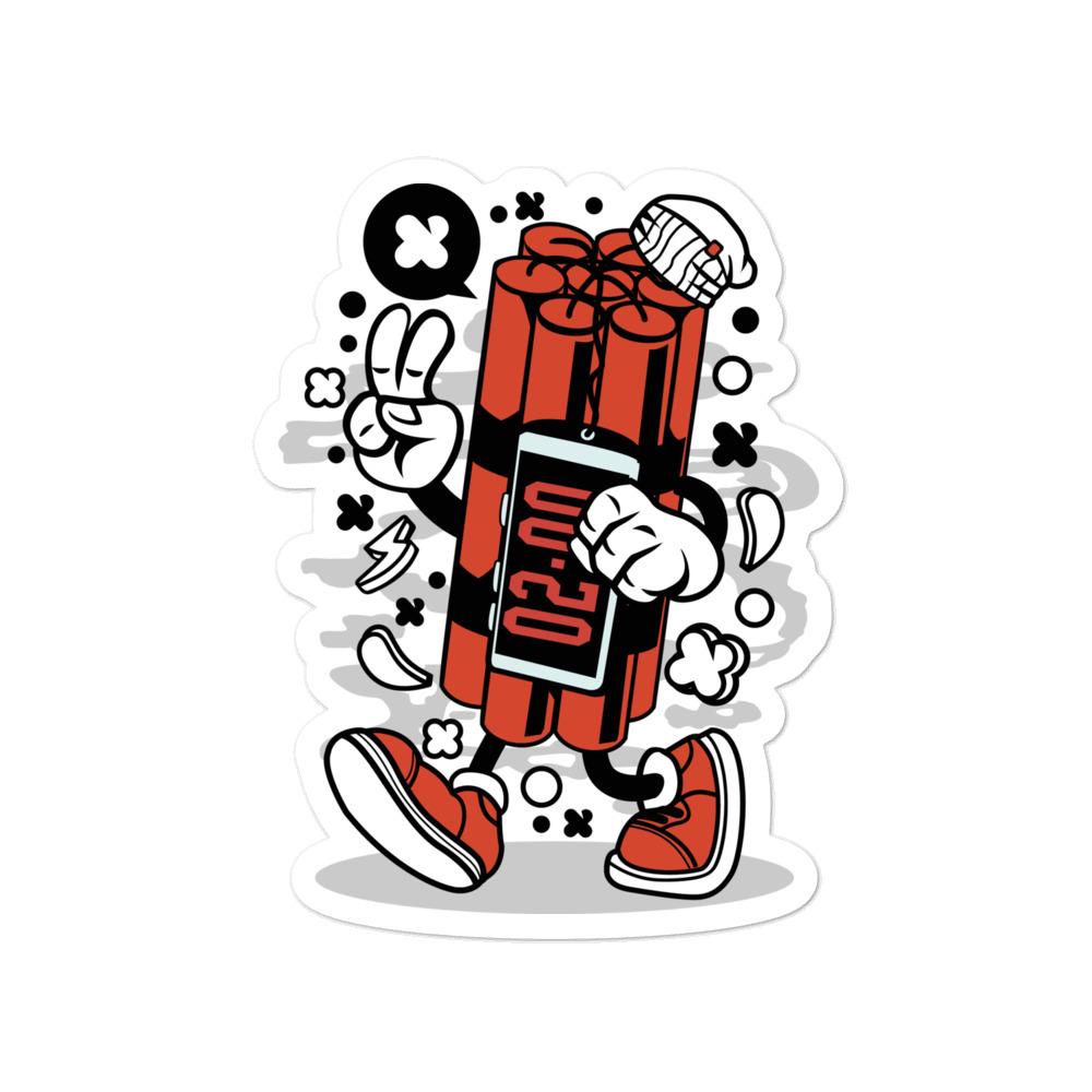 Dynamite Graffiti Art Sticker