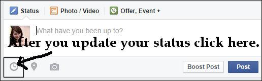 status area