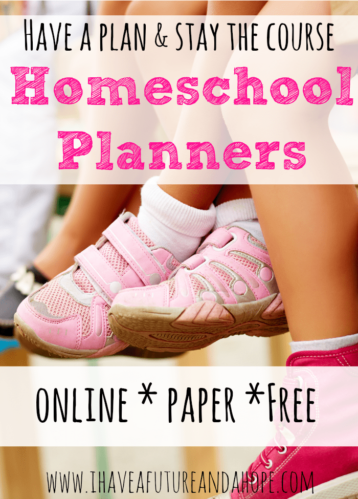 Homeschool Planners and Organization: Lesson Plans, Attendance, Transcripts and more.