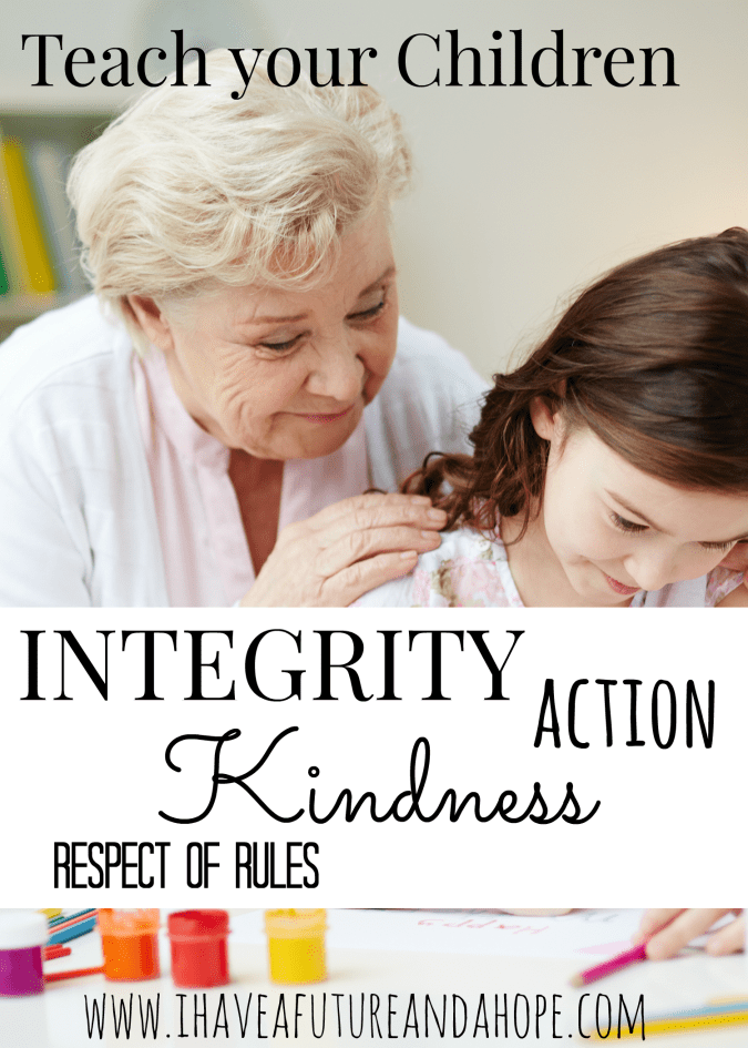 31 Days of Homeschool Supplies: Teach your children character, integrity, kindness, action, and respect of rules with these great posters.