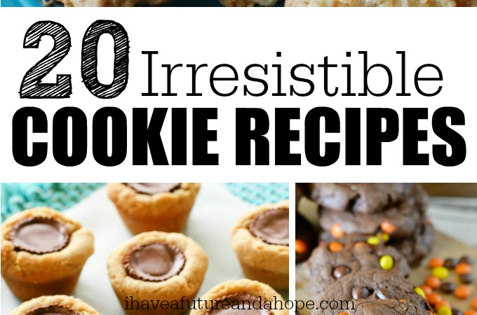 B - 20 Irresistible Cookie Recipes - featured