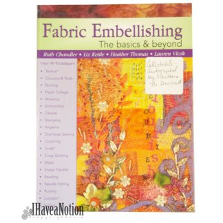 cover of Fabric Embellishing