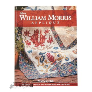 Cover of More Williiam Morris Applique