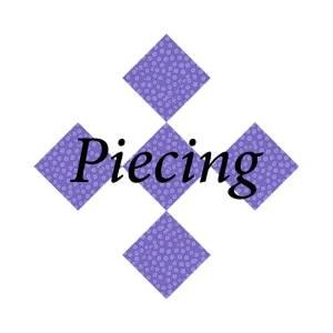 Piecing