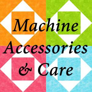 Machine Accessory/Care Products