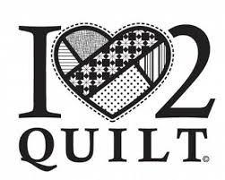 """Large photo of the I l""""heart"""" 2 quilt"""