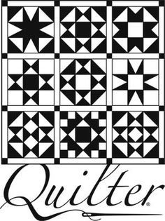 A small Quilt decal with Quilter