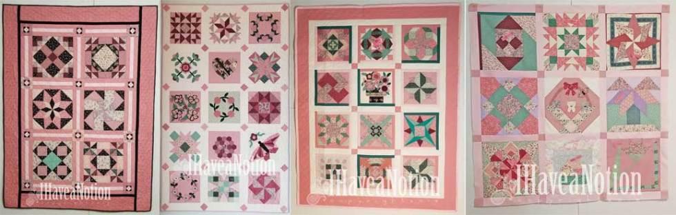 4 Prez Quilts Collage