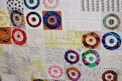 Ready Aim Fire Quilt detail
