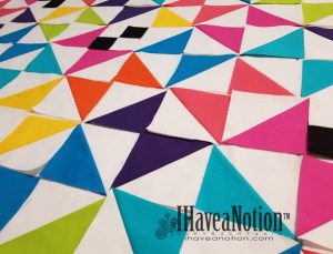 Half Square Triangles Quilt