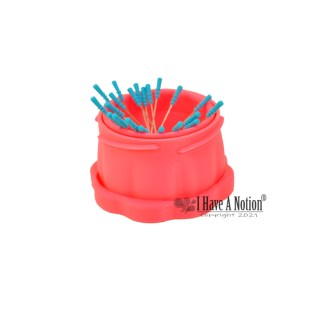 Large Pink Magnetic Pin Cup