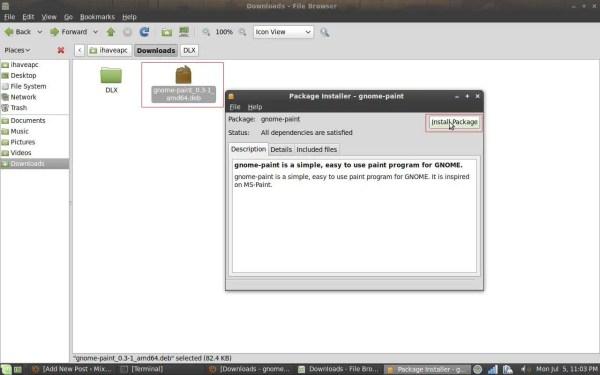 Ms Paint Program Linux Mint Pc