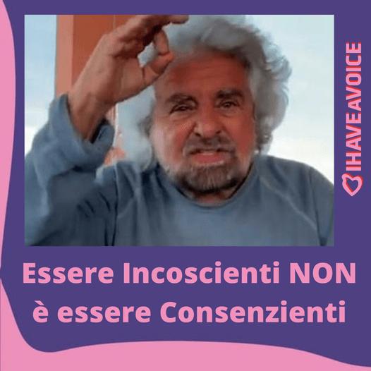 Beppe Grillo e il caso di stupro