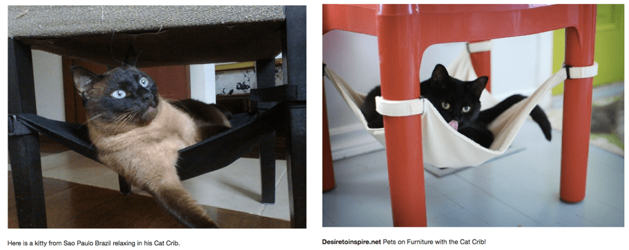 cat hammock under chair dining chairs at homesense crib kitty i have not
