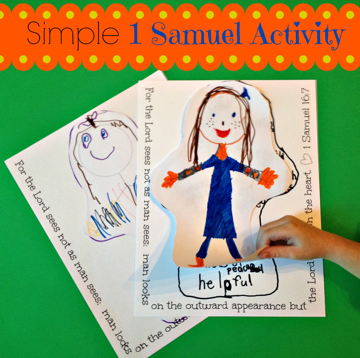 Simple 1 Samuel Activity
