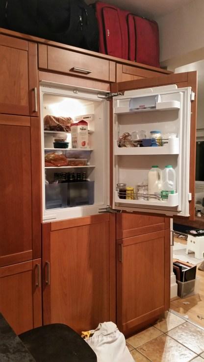 Our tiny refrigerator