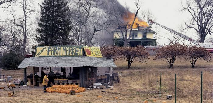 Still got my eye out for Virginia here in London. Joel Sternfeld, 'McLean, Virginia, December 1978' (detail), 1978