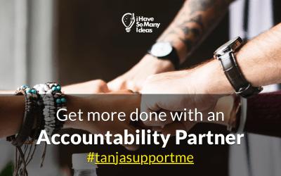 Get yourself an Accountability Partner