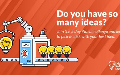 Do you have so many ideas?
