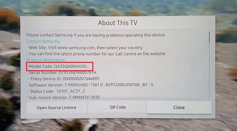 So finden Sie die Samsung Tv-Modellnummer (Such- und Dekodierungsanleitung)